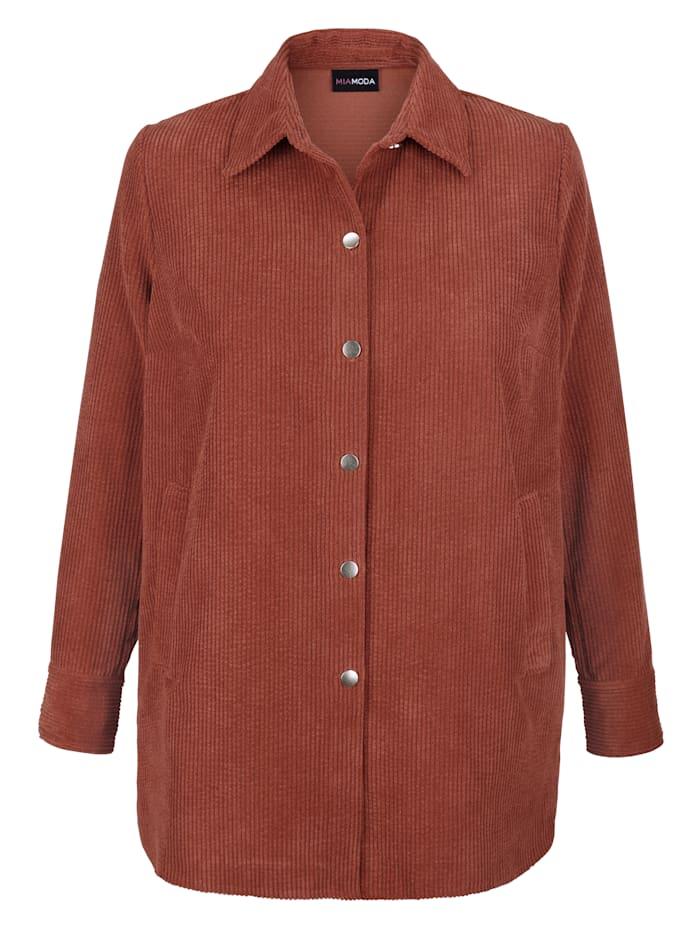 Košilová halenka z kordu