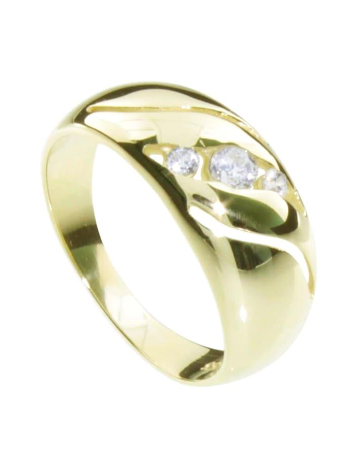 OSTSEE-SCHMUCK Ring - Pina - Gold 333/000 - Zirkonia, gold