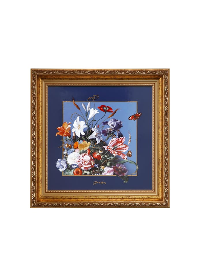 "Goebel Goebel Wandbild Jan Davidsz de Heem - ""Sommerblumen"", De Heem - Sommerblumen"