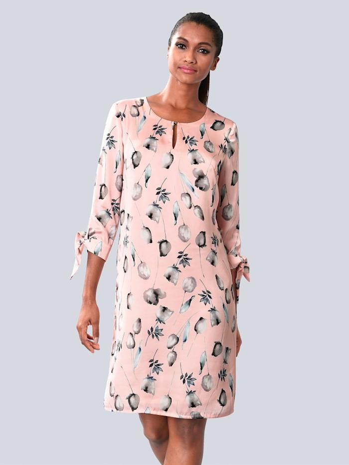Kleid allover im floralen Muster