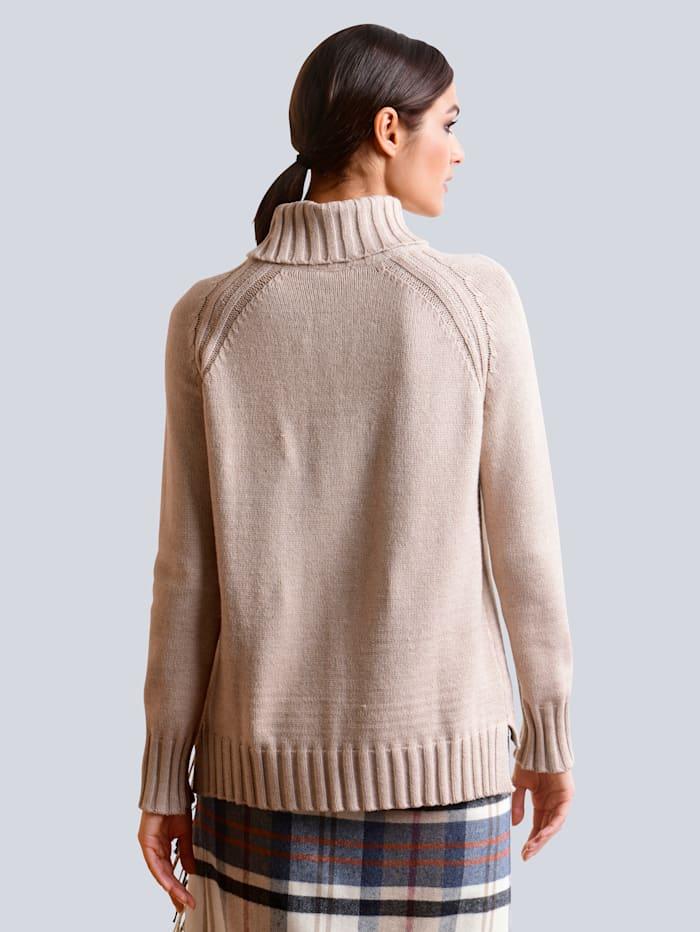 Pullover in schöner Viskose-Mischung