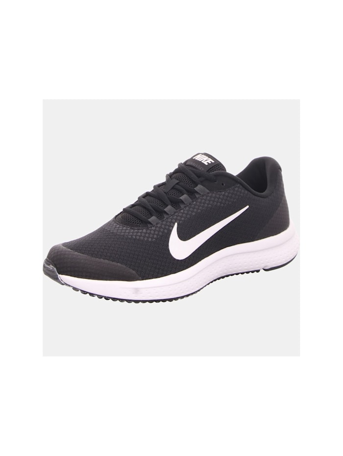 Nike Schnürschuhe, schwarz