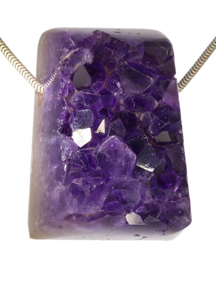 1001 Diamonds Amethyst Anhänger, violett