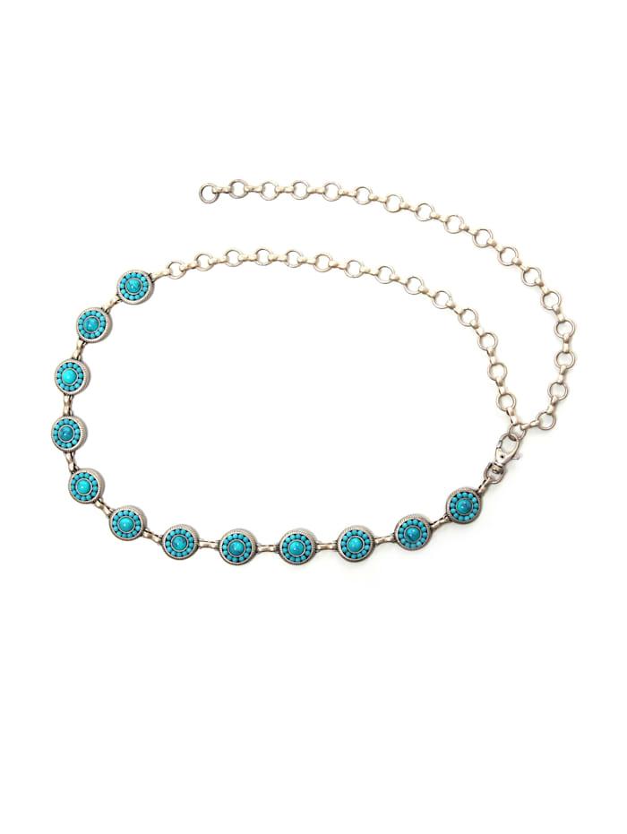 Kettengürtel Lina mit edlen Perlen besetzt Made in Italy