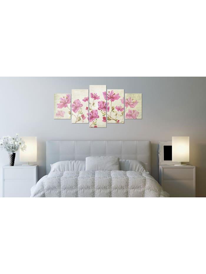 Wandbild Picture with Flower