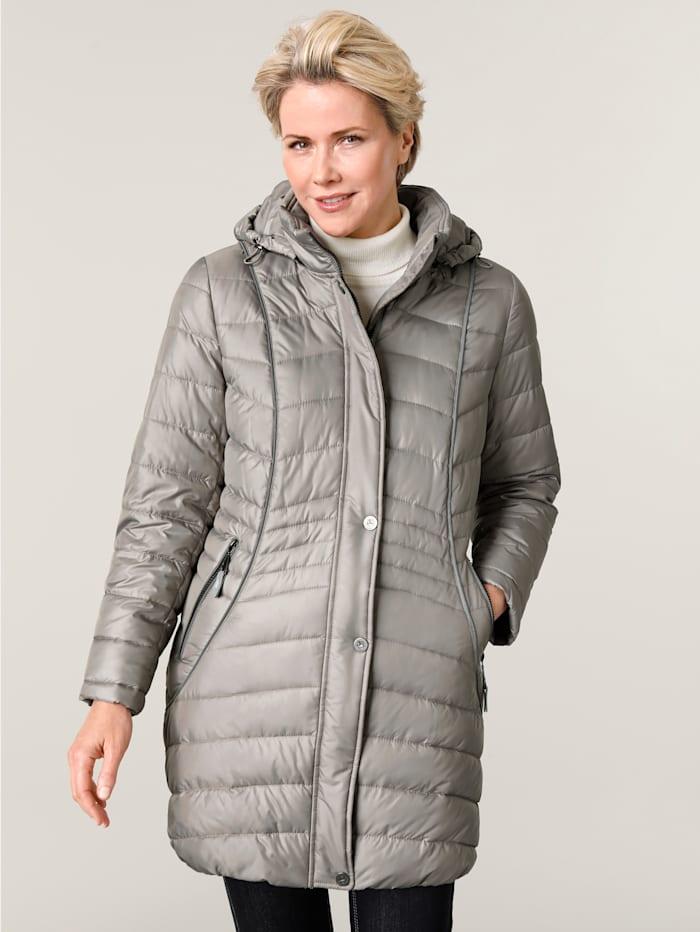 MONA Quilted jacket, Beige
