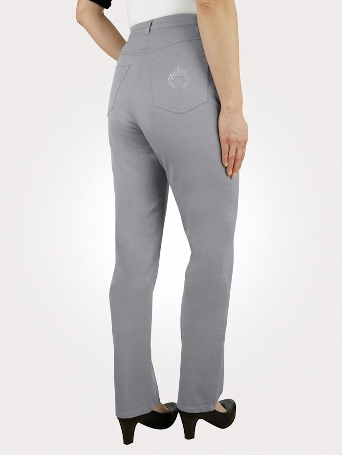 Paola Jeans i extrakorta storlekar, Ljusgrå
