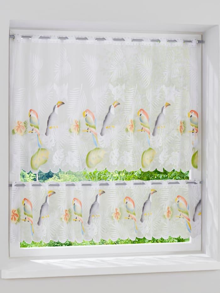 Kleinfensterset 'Papugi' 2tlg.