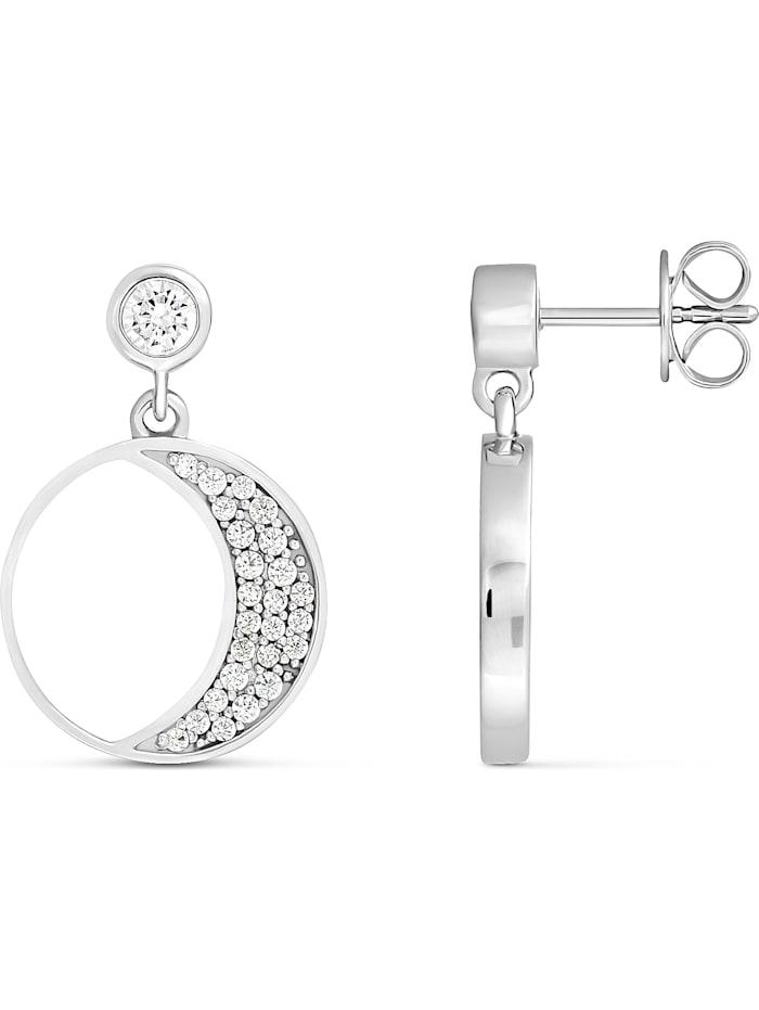 JETTE Silver Damen-Ohrhänger 925er Silber Perlmutt