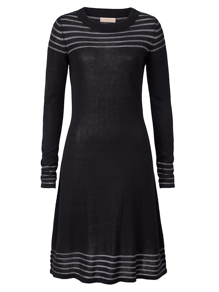 SIENNA Robe, Noir