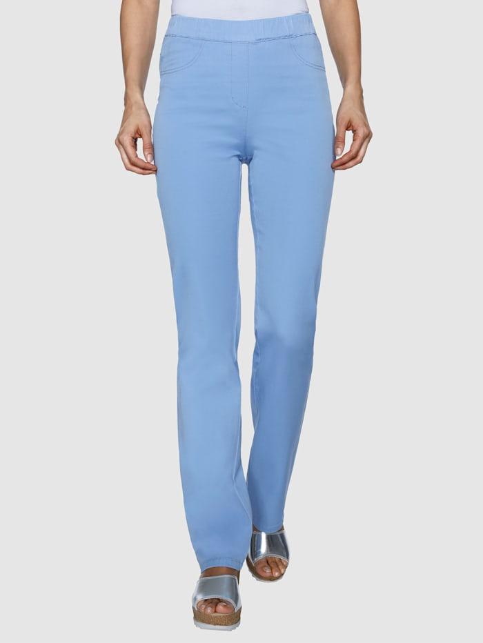 Laura Kent Jeans Lotta straight, Lichtblauw