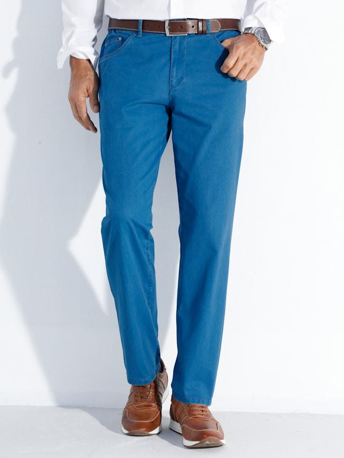 BABISTA Hose mit elastischen Gummibund-Einsätzen, Blau