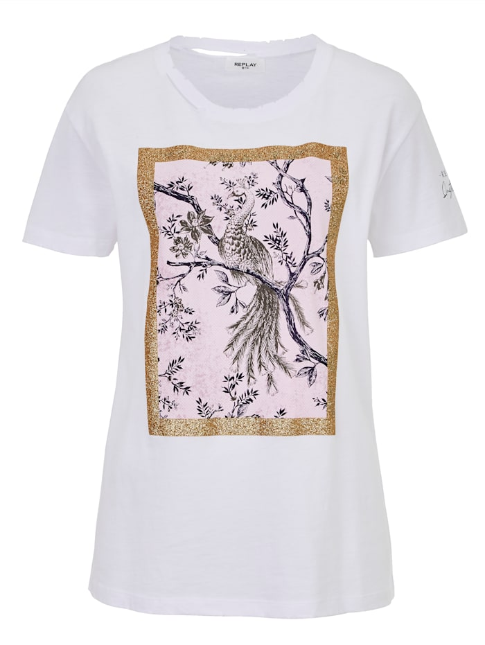 REPLAY T-Shirt, Off-white