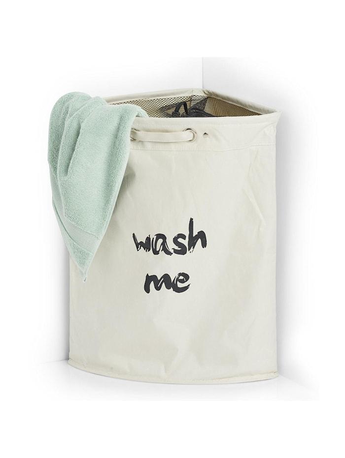 HTI-Living Eck-Wäschesammler Wash me, Beige