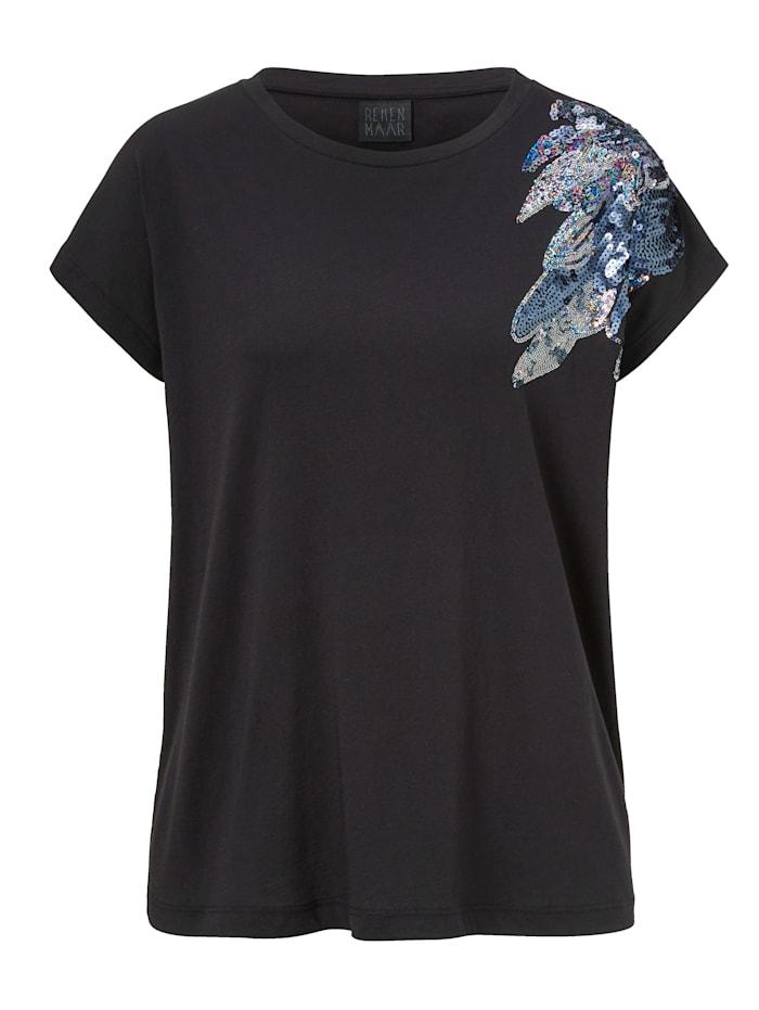 REKEN MAAR T-Shirt, Schwarz