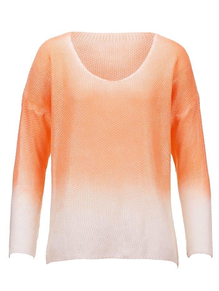 Pullover in Degradee-Optik
