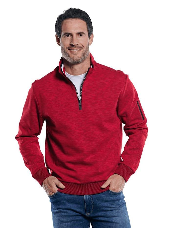 Engbers Sweatshirt Stehbund, Feuerrot