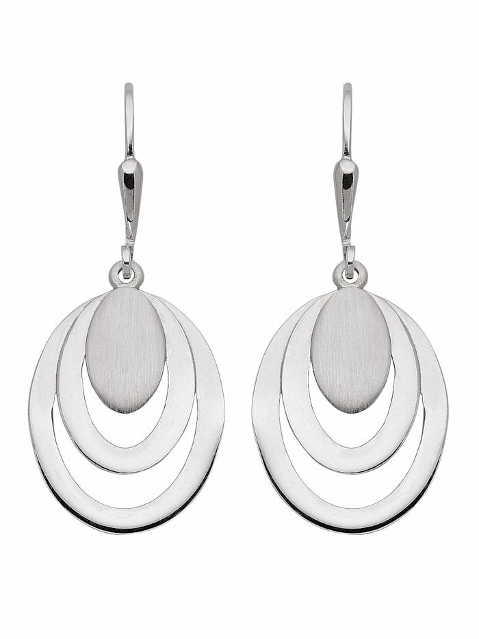 1001 Diamonds 1001 Diamonds Damen Silberschmuck 925 Silber Ohrringe / Ohrhänger, silber