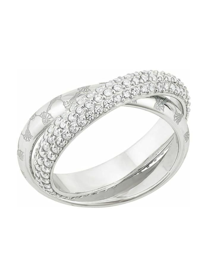 JOOP! Ring für Damen, Sterling Silber 925, Silber