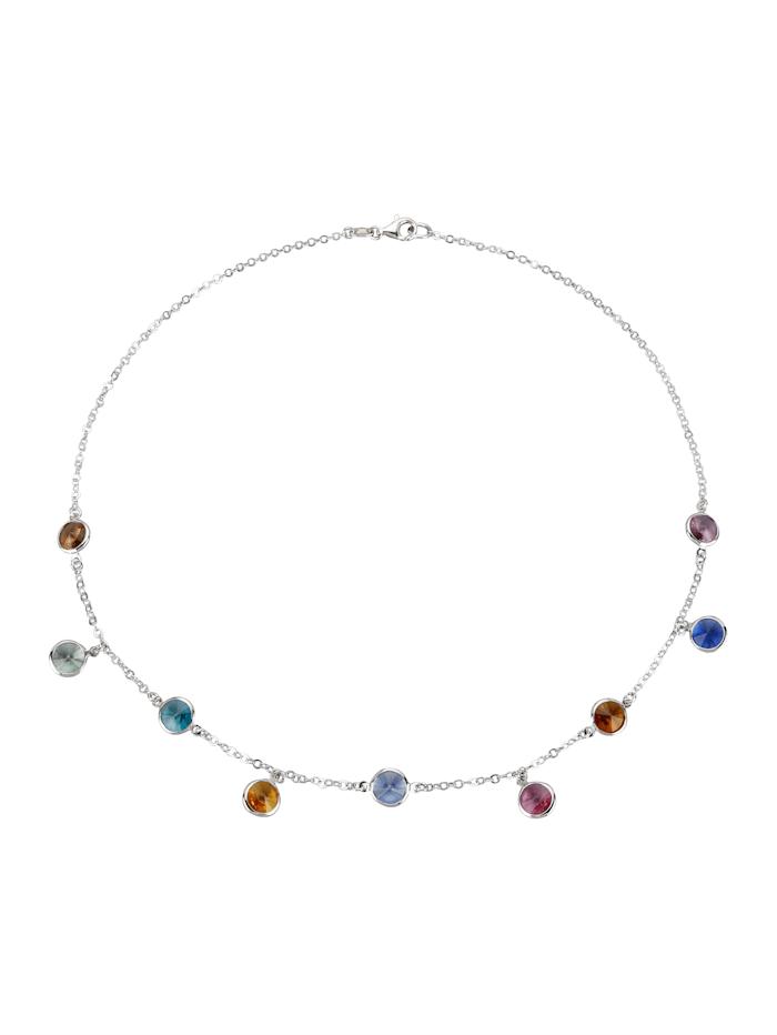 AMY VERMONT Collier mit Swarovski-Kristallen, Multicolor