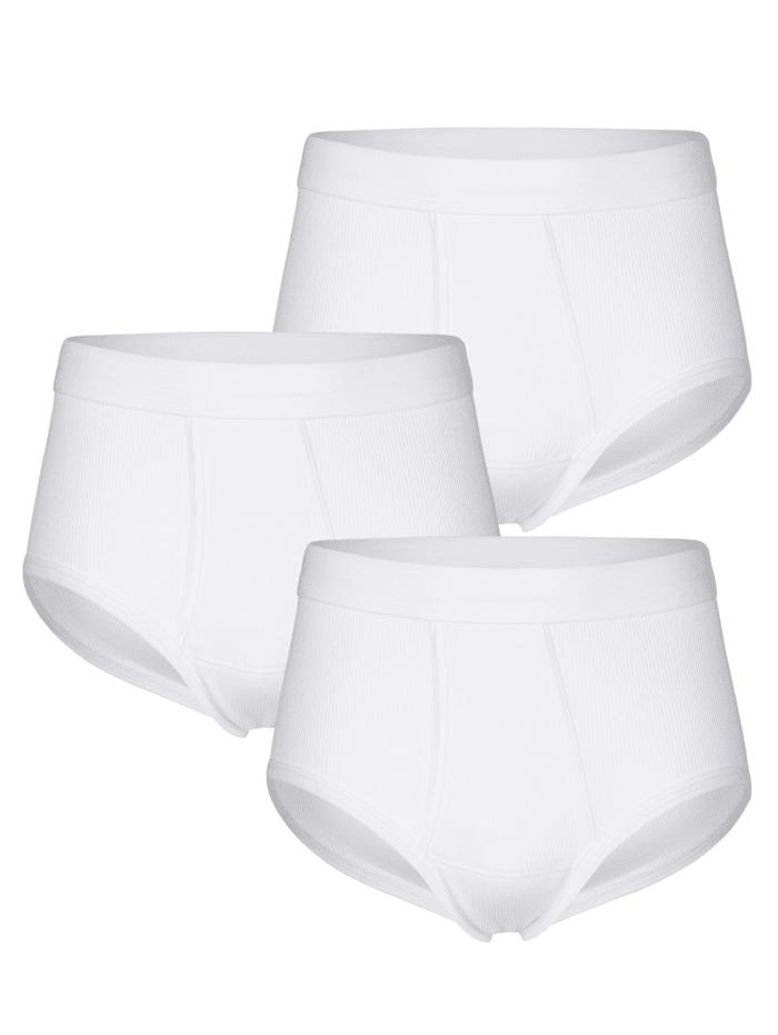 Slips En matière haut de gamme, Blanc