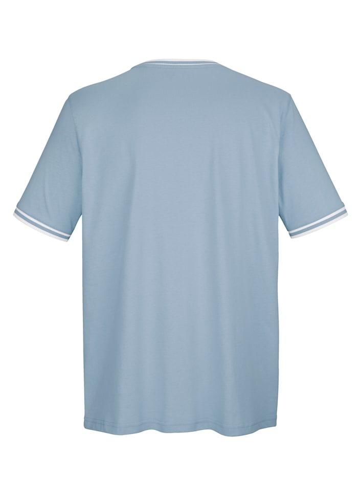 Raitaresorillinen T-paita