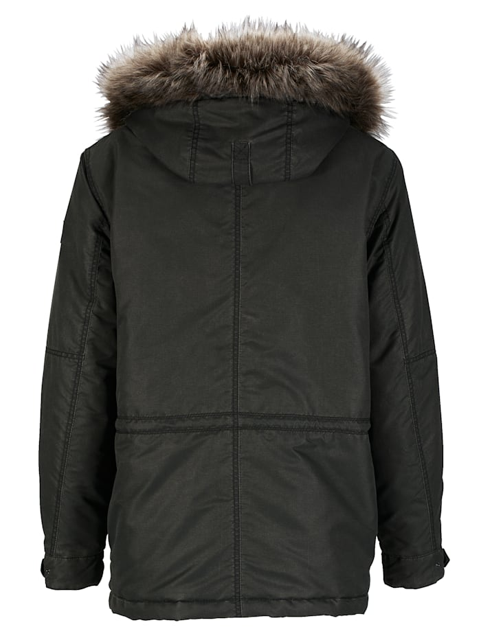 Parka in angesagter Used-Optik