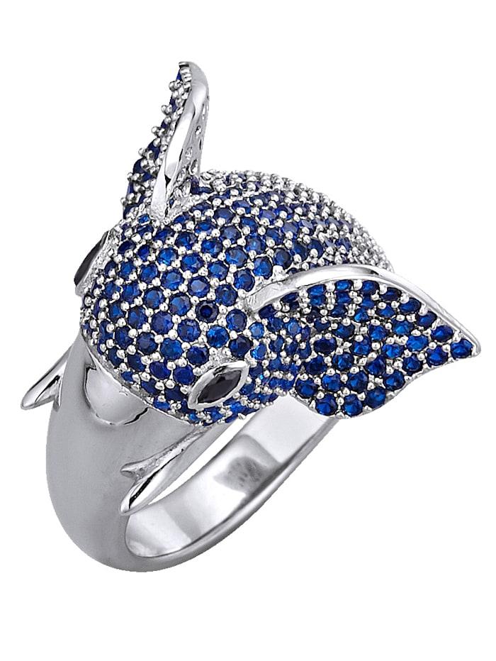 AMY VERMONT RingOlifant, Blauw