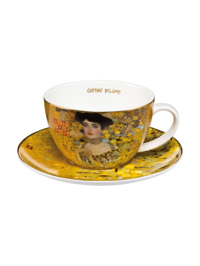 """Goebel Goebel Tee-/ Cappuccinotasse Gustav Klimt - """"Adele Bloch-Bauer"""", Klimt - Adele"""