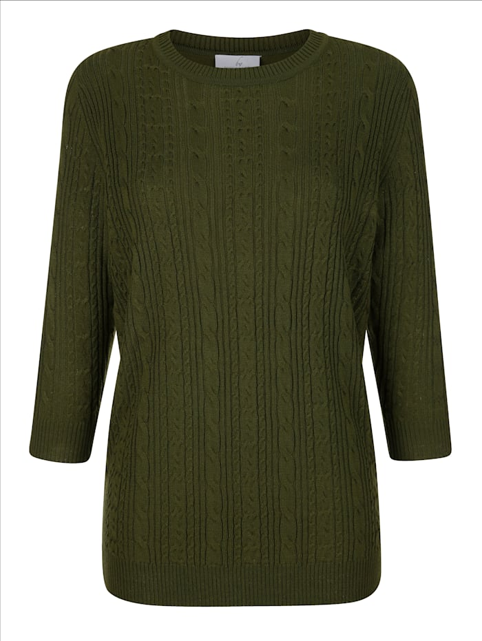 Pullover mit Stickmuster